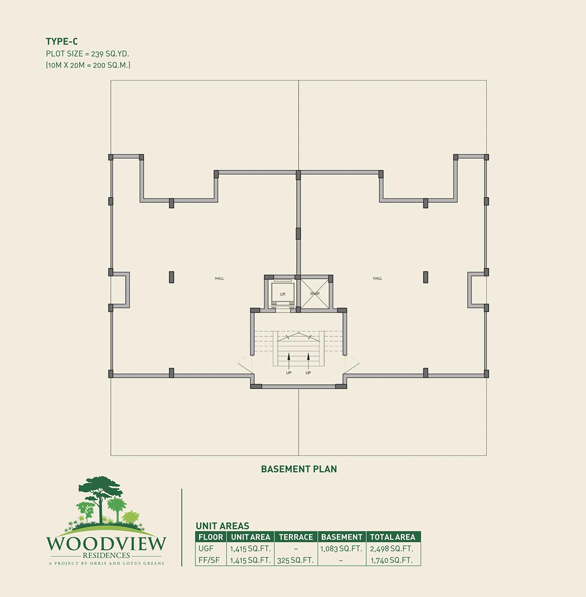 Woodview Apartments: 3 BHK Apartments Gurgaon